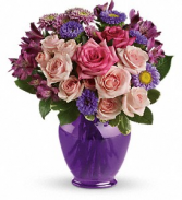 Purple Medley Bouquet Teleflora