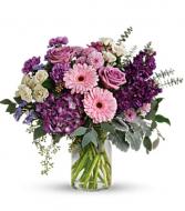 Purple mist Vase