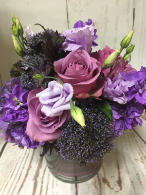 Purple Moments  in Easton, CT | Felicia's Fleurs