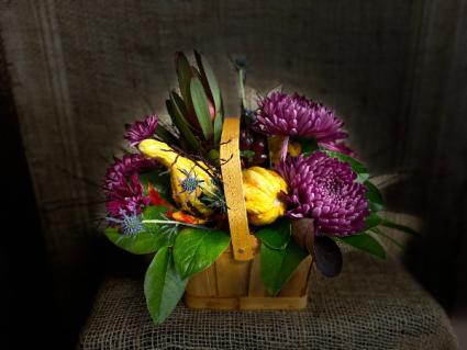Purple Mum basket