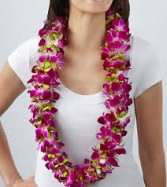 Purple Orchid Lei by Enchanted Florist of Cape Coral