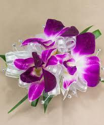 Purple Orchid Wristlet Corsage