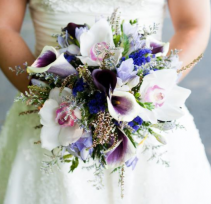 Purple Paradise Bridal Bouquet