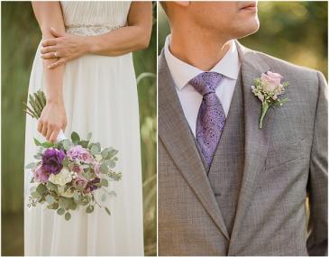Purple Paradise Wedding Flowers