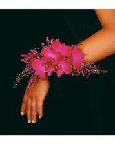 Purple Paradise Wristlet