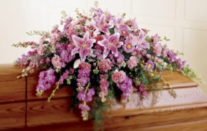 Purple Pasion Funeral in Dover, NH | SWEET MEADOWS FLOWER SHOP