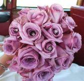 Purple Passion 2 Dozen Roses and Salal