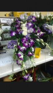 Purple Passion Bridal Bouquet In Whiting Nj A Whiting Flower Shoppe