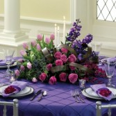 Purple Passion Centerpiece Centerpiece