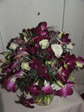Purple Passion Handheld Bouquet