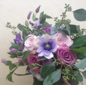 Purple Passion Handtied Bouquet in Toronto, ON | BOTANY FLORAL STUDIO