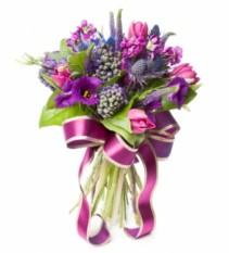 Purple Passion Mix Bouquet