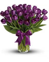 Purple passion  Vase