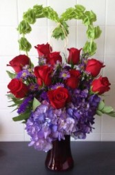 Purple Passion Heartfelt Bloomshop Specialty