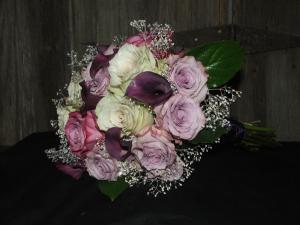 Purple Passion Wedding Flowers in Herndon, PA   BITTERSWEET DESIGNS BY LORRIE