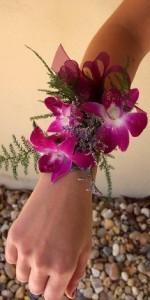Purple Passion   Wrist Corsage