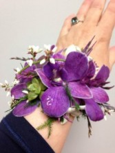 Purple Passion Wrist corsage
