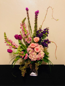 Purple Perfection Keepsake Arrangement