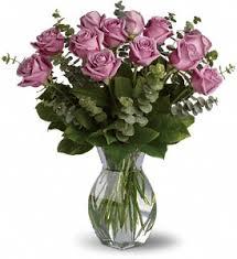 Purple Persuasion Vase Arrangement