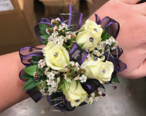 Purple Pizzazz  Prom Corsage