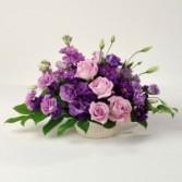 Purple pleasures mixed bouquet