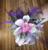 Purple Posh  Prom Corsage