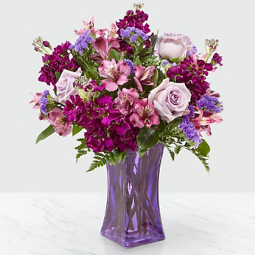 Purple Presence Bouquet