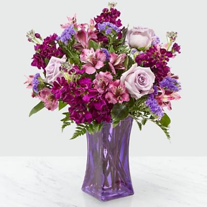 Purple Presence Bouquet