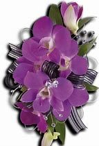 Purple Promise Wristlette Prom Corsage