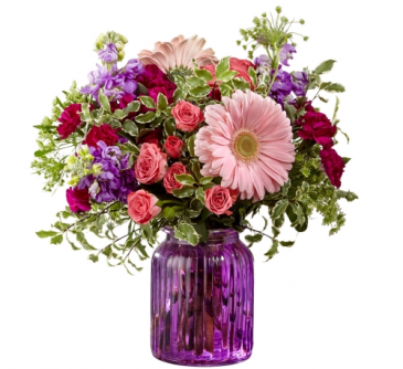 Purple Prose Bouquet g11