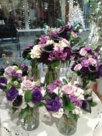 LOVELY LAVENDER TONES Wedding Package Special $500.00