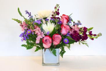 Purple Rain  Floral Design