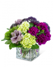 Purple Reign Flower Arrangement