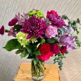 Purple Romance Vase Arrangement