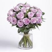 Purple Roses Bouquet Roses