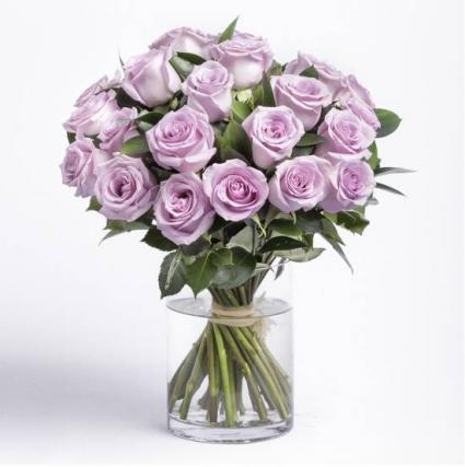 Purple Roses Bouquet Roses
