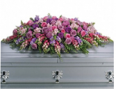 Purple Serenity  Casket spray