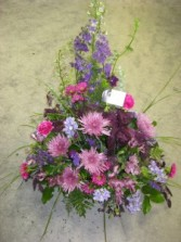 Purple Spray Fresh Arrangement