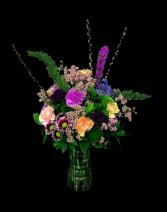 Purple Spring Mix Floral