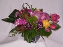 """PURPLE STREAMLINE """"Roses & Gifts Prince George BC"""" Prince George BC Roses and Gifts   Prince George BC Flowers   Prince George BC Florists:   Welcome To You New Home Flowers"""