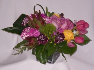 PURPLE STREAMLINE- Roses Gifts Prince George BC