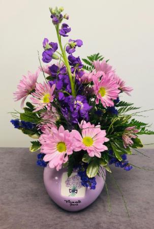 Purple Thank You  Bouquet