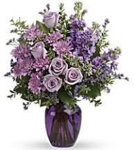 Purple Twilight Purple Vase