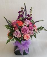 Purple Twist Bloom Bag