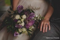 Purple wildflower  Bridal Bqt