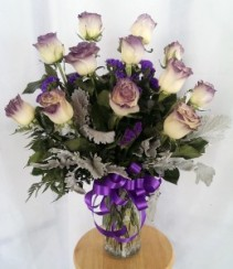 Purple Wishes Fantasy Arrangement