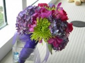 Purplel Fantasy Bridal Bouquet