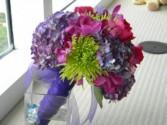 Purplel Fantasy Bridal Bouquet