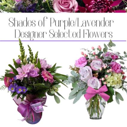 Purple/Lavender-Designer's Choice