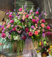 Purples and pinks  Sympathy